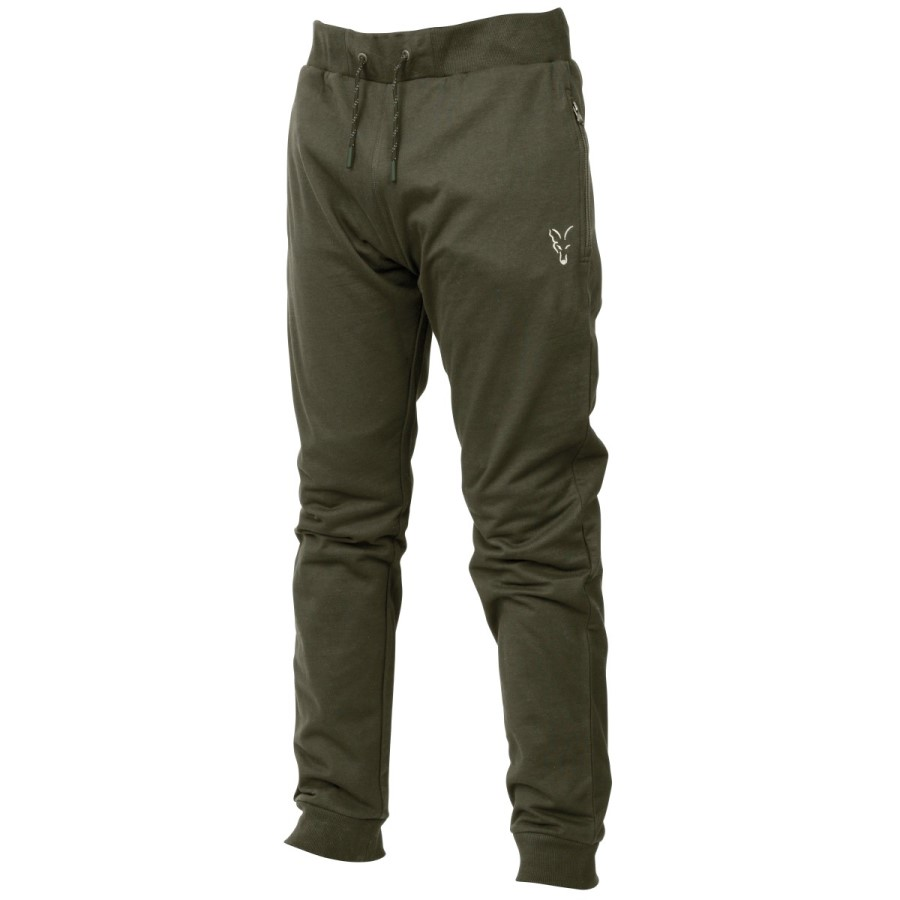 Панталони Fox Collection Green & Silver Lightweight Joggers