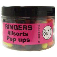 Плуващи топчета Ringers Allsorts Match Pop Ups 8mm-10mm