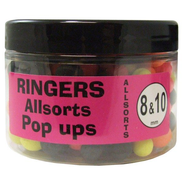 Плуващи топчета Ringers Allsorts Match Pop Ups 8mm-10mm