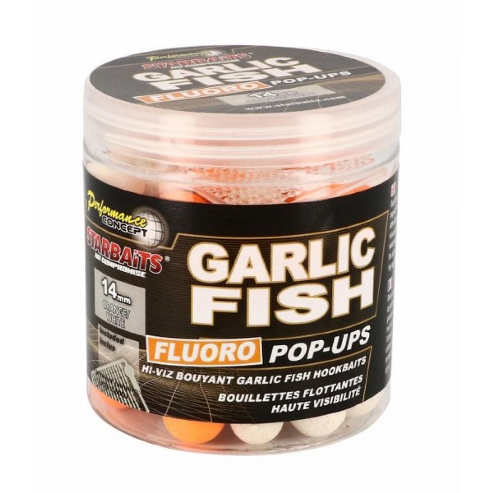 Плуващи топчета StarBaits Garlic Fish Pop Ups