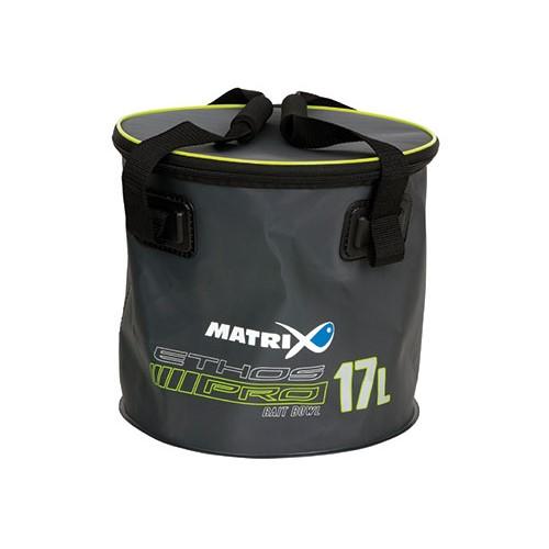 Футер с капак Matrix ETHOS Pro EVA Bait Bowl 17л