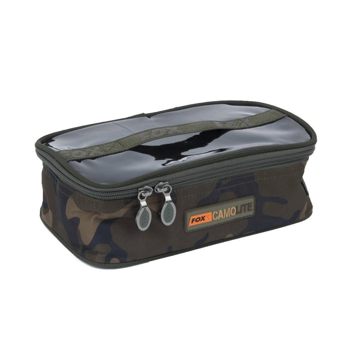 Чанта за риболовни аксесоари Fox Camolite Accessory Bags Medium