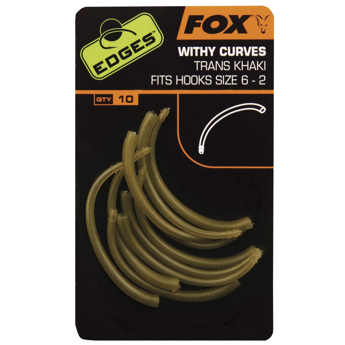 Алайнери Fox Edges Withy Curve Adaptor Trans Khaki