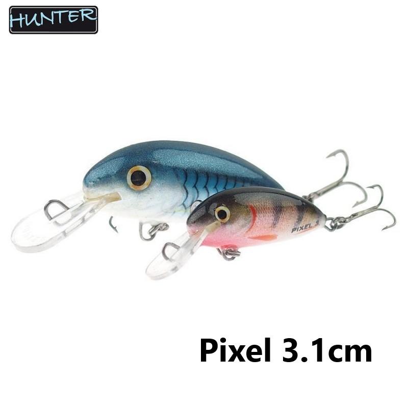 Воблер Hunter Pixel Sinking 3.1см