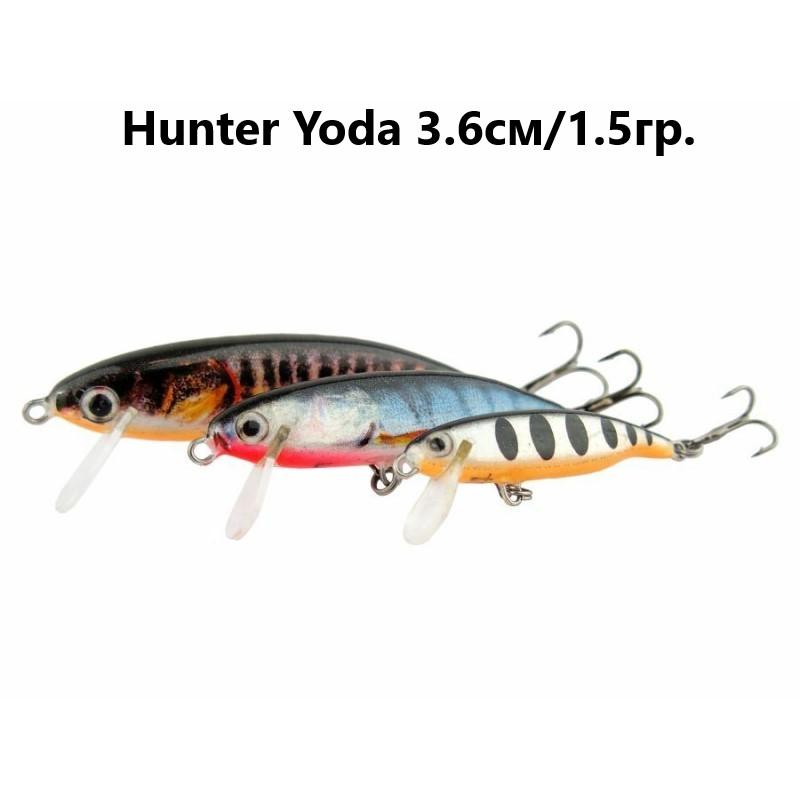 Воблер Hunter Yoda Sinking 3.6см