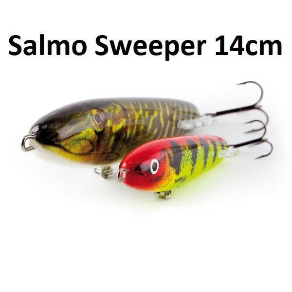 Воблер Salmo Sweeper Sinking 14cm потъващ