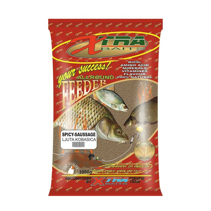 Захранка X-Tra Baits Feeder Spicy Saussage 1kg