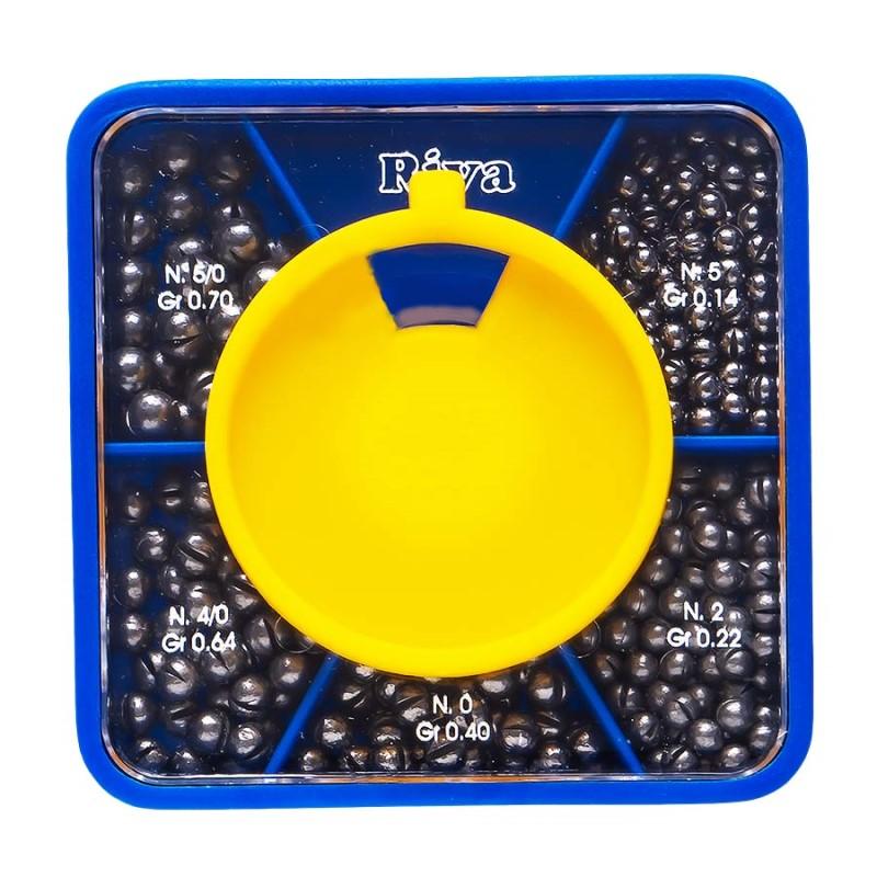 Олово кутия Riva квадрат малък 130 гр