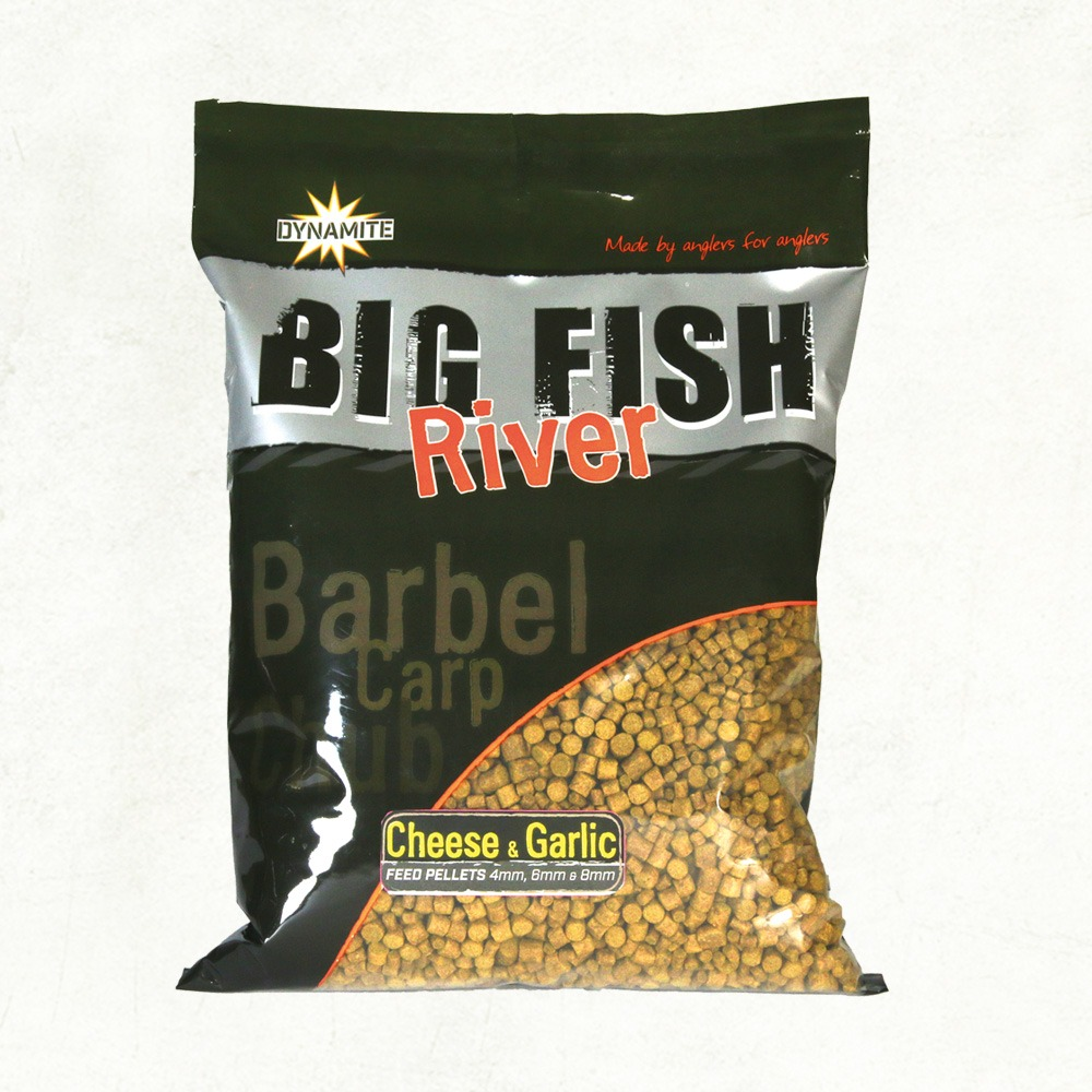 Пелети Dynamite Baits Big Fish River Cheese & Garlic