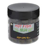 Плуващи топчета Dynamite Baits Pop-Ups Hot Fish & GLM