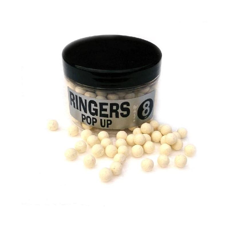 Плуващи топчета Ringers White Shellfish Pop Ups