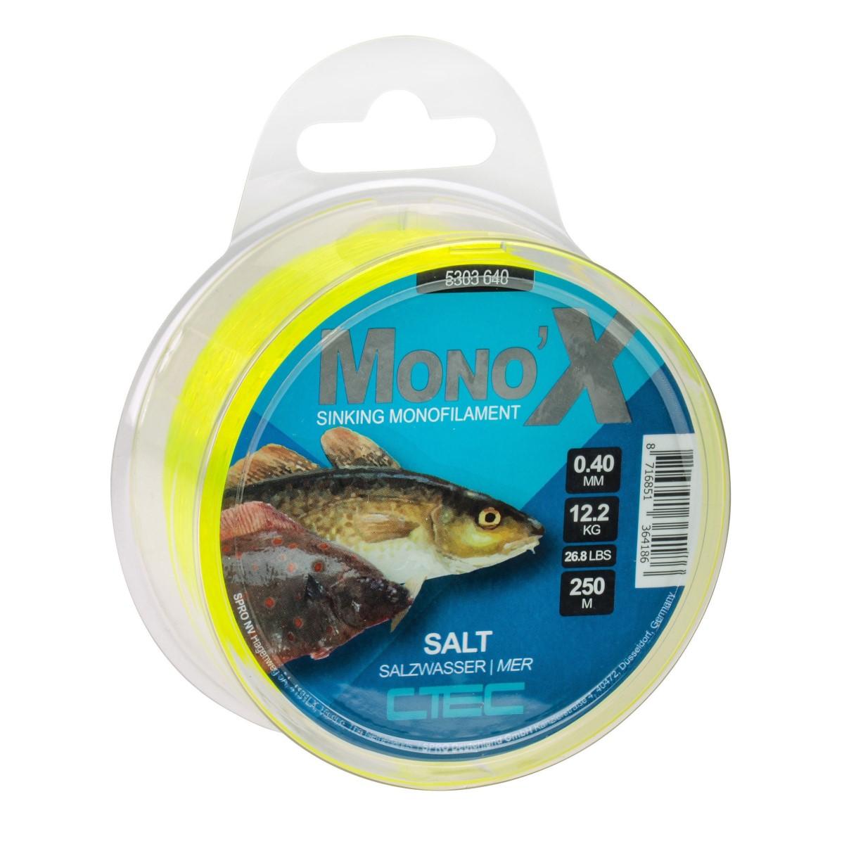 Риболовно влакно CTec Mono X Salt