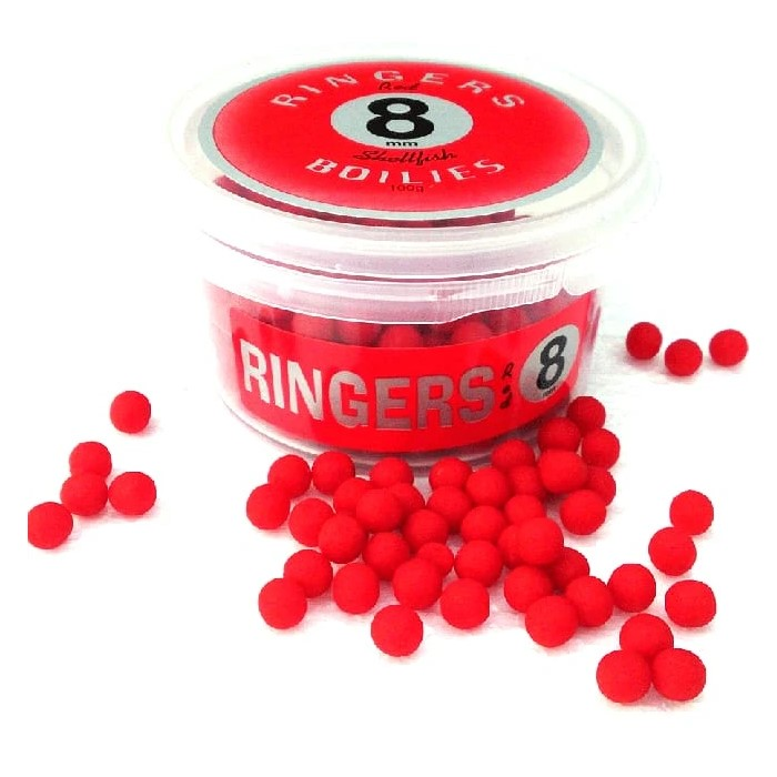 Топчета Ringers Red Shellfish Boilies