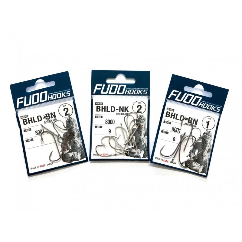 Куки Fudo Bait Holder BHLD-BN – 8001