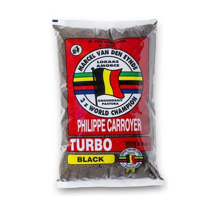 Захранка за риболов Turbo Black Van Den Eynde