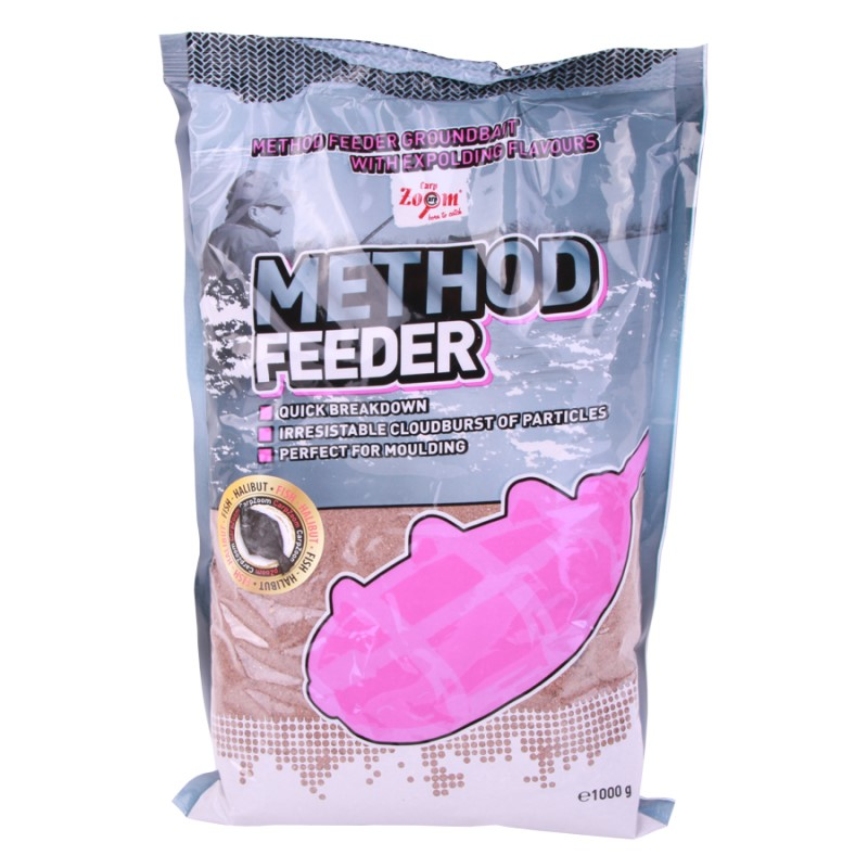 Захранка CZ Method Feeder Groundbait Fish-Halibut