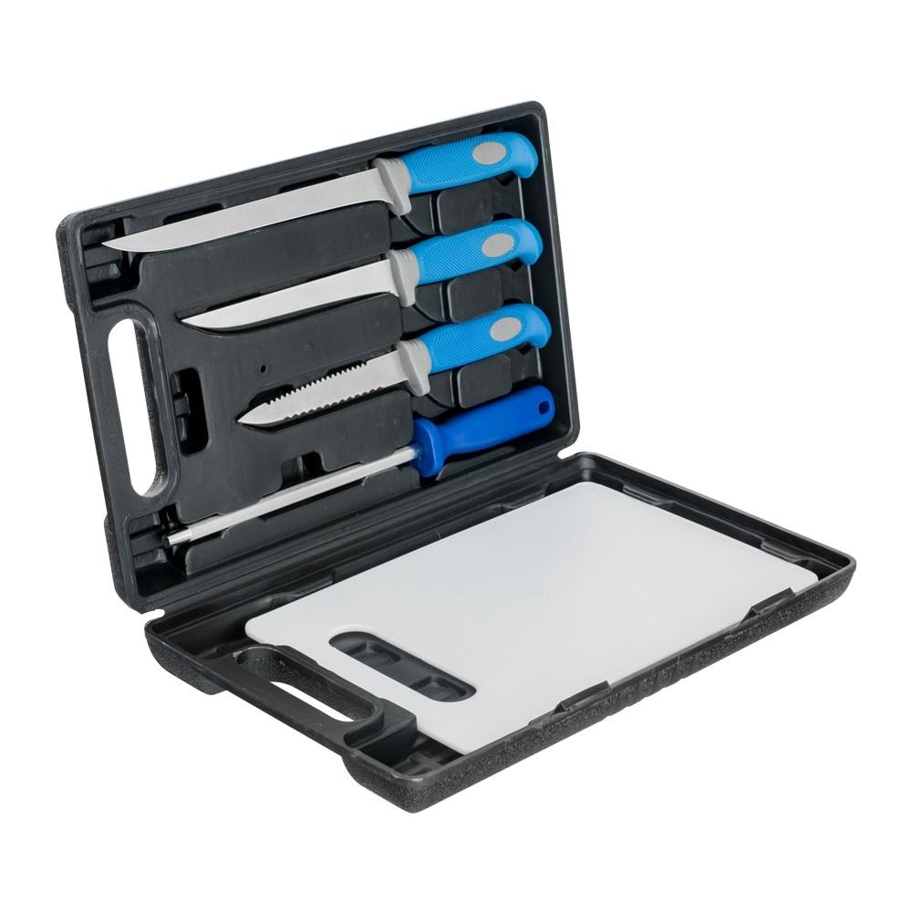 Комплект ножове Carp Zoom Deluxe Fishing Knife Set