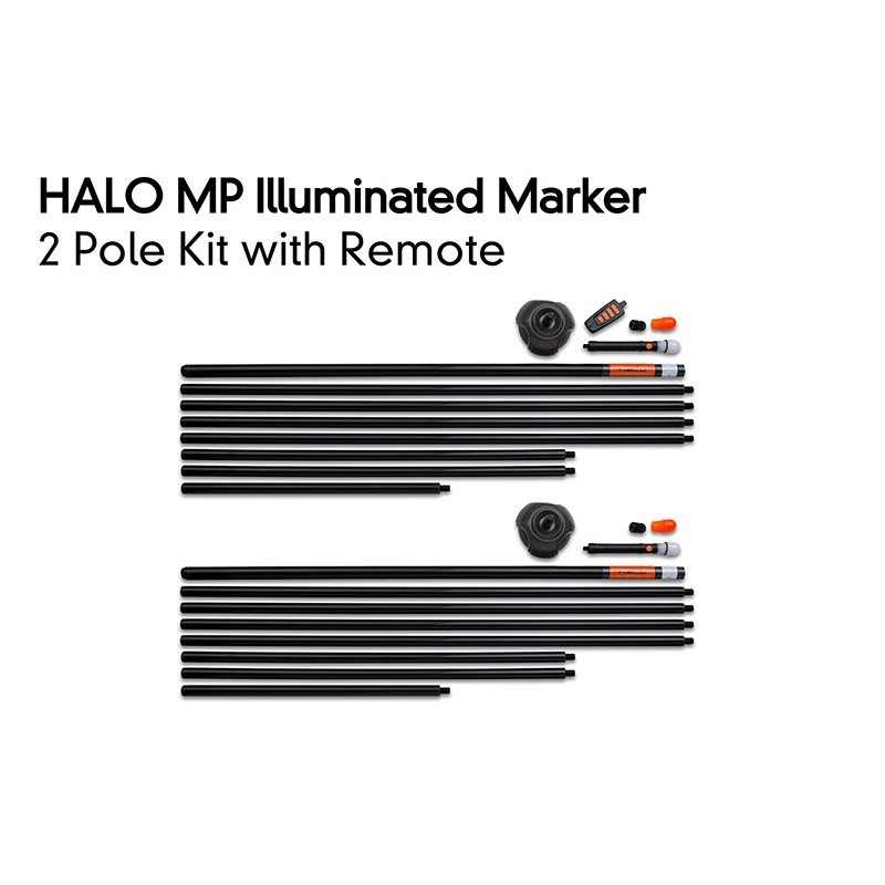 Светещ Маркер с дистанционно Fox Halo Illuminated Marker Pole 2 Pole