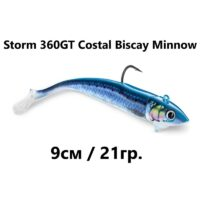 Силиконова примамка Storm 360GT Costal Biscay Minnow 9cm