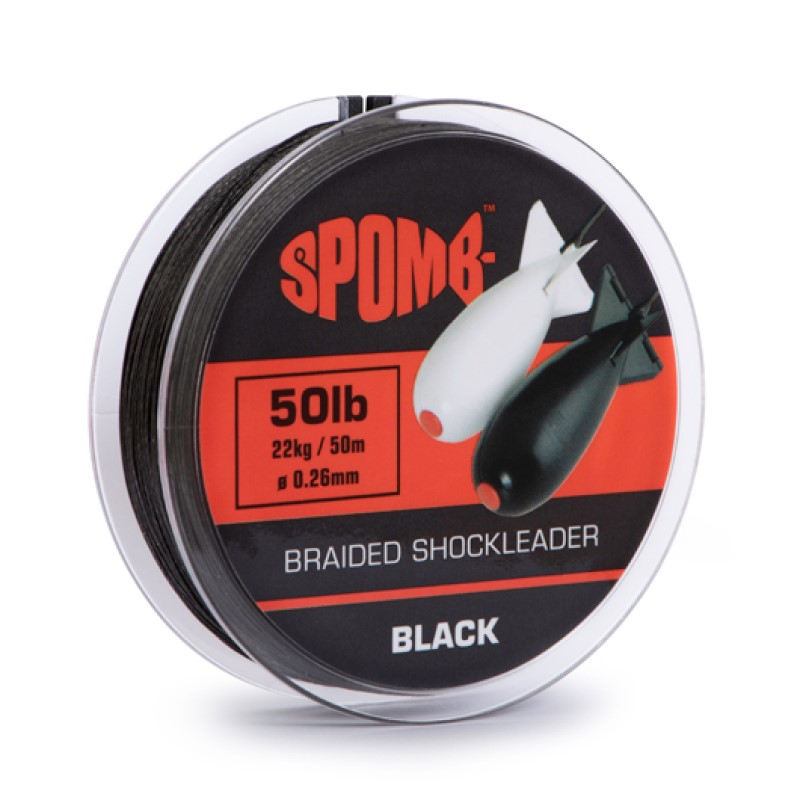 Шок лидер Spomb Braided Shockleader