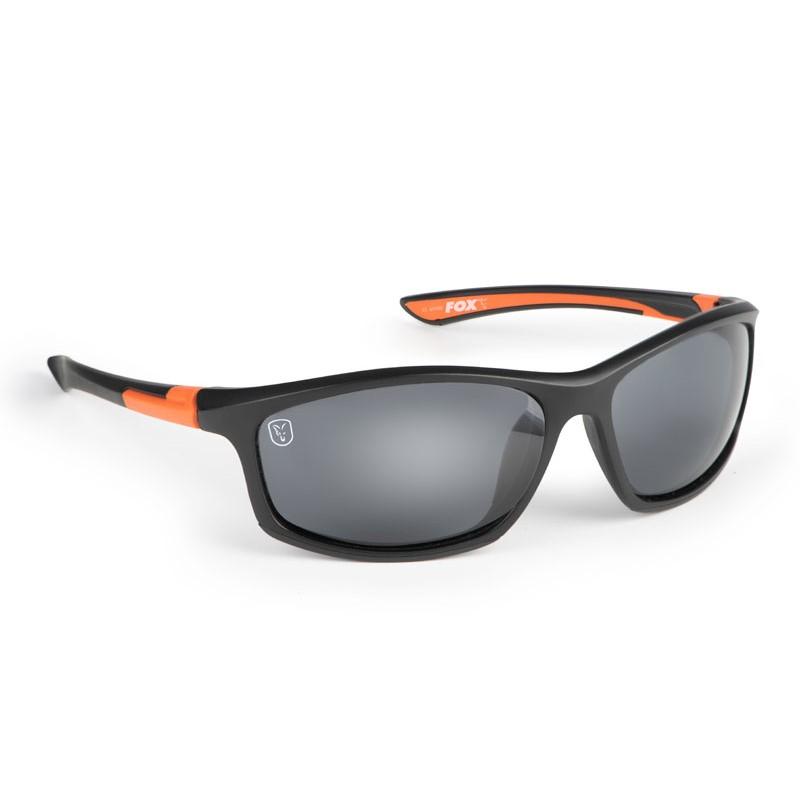 Очила Fox Sunglasses Black Orange/Grey Lens