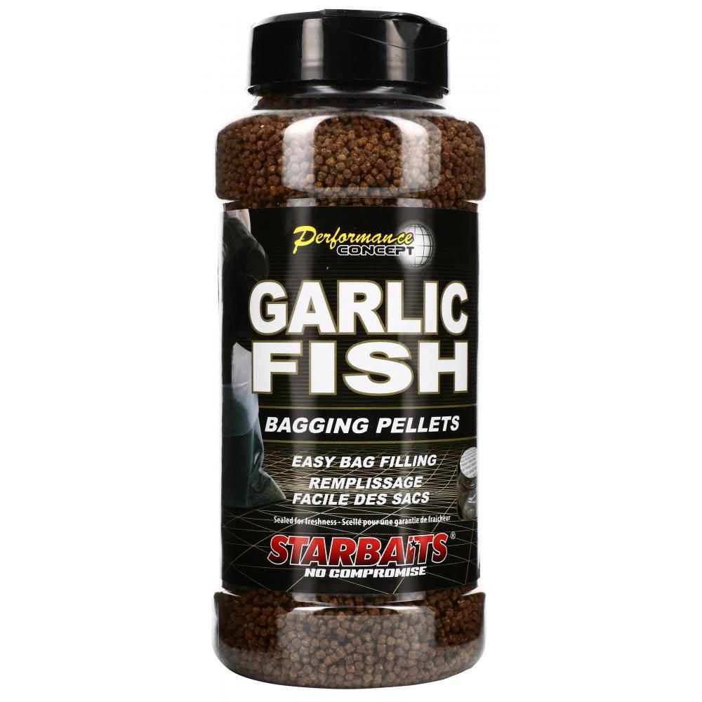 Пелети SB Bagging Pellets Garlic Fish