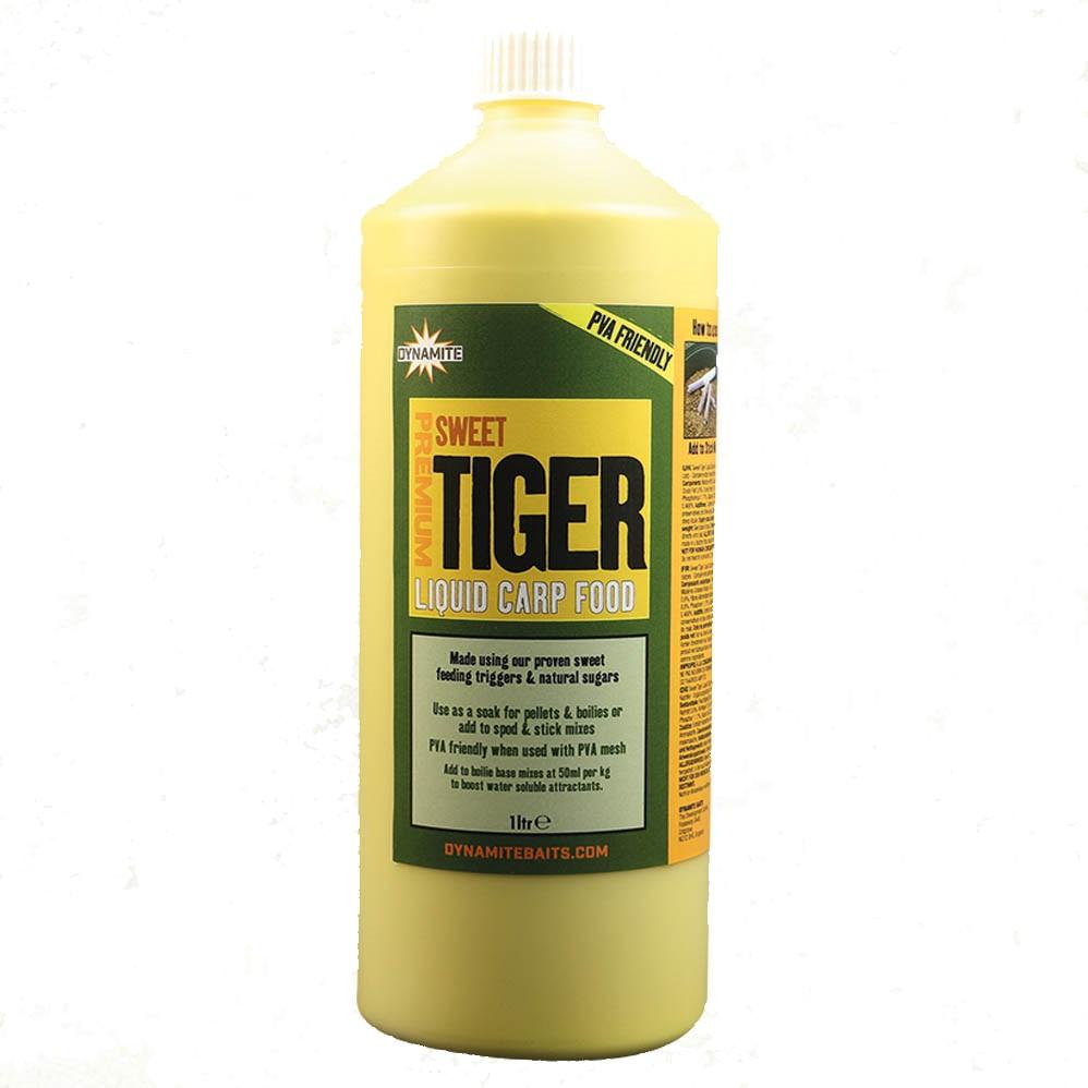 Течен атрактант DB Premium Liquid Carp Food Sweet Tiger