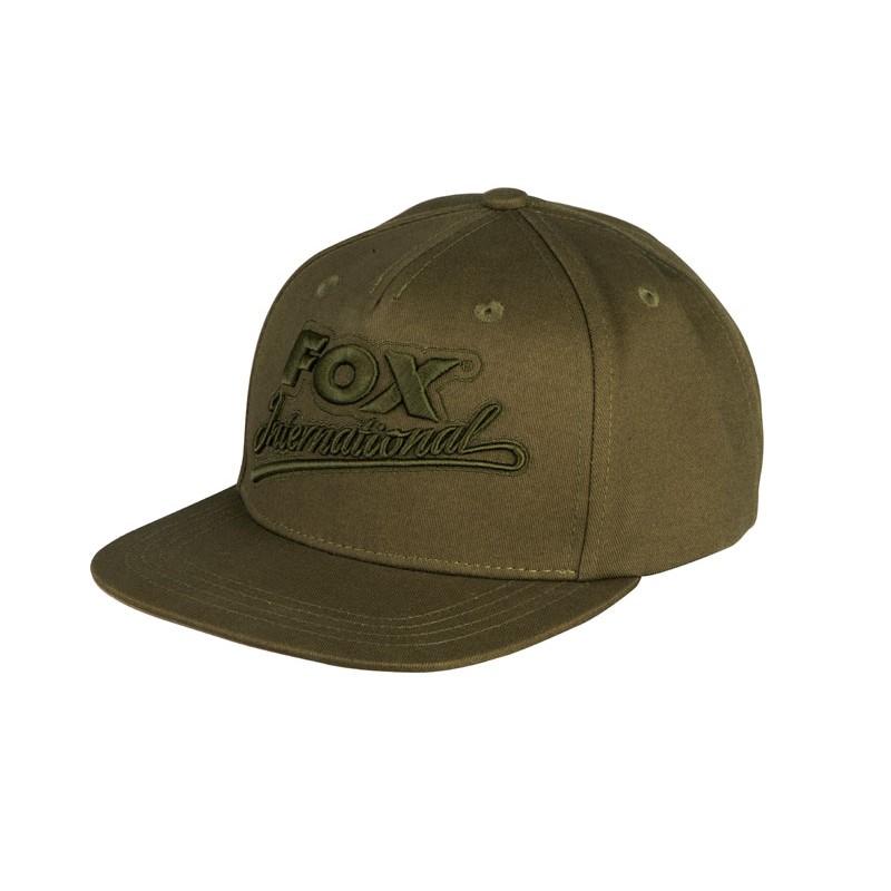 Шапка с козирка Fox International Khaki Snapback Cap