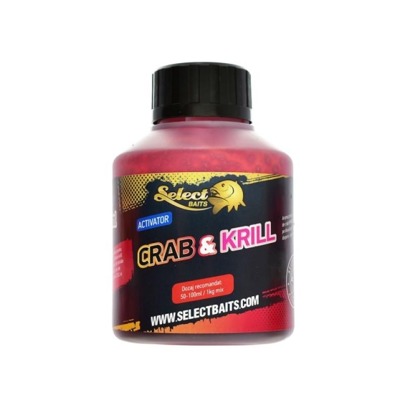 Активатор Select Baits Crab and Krill 250ml