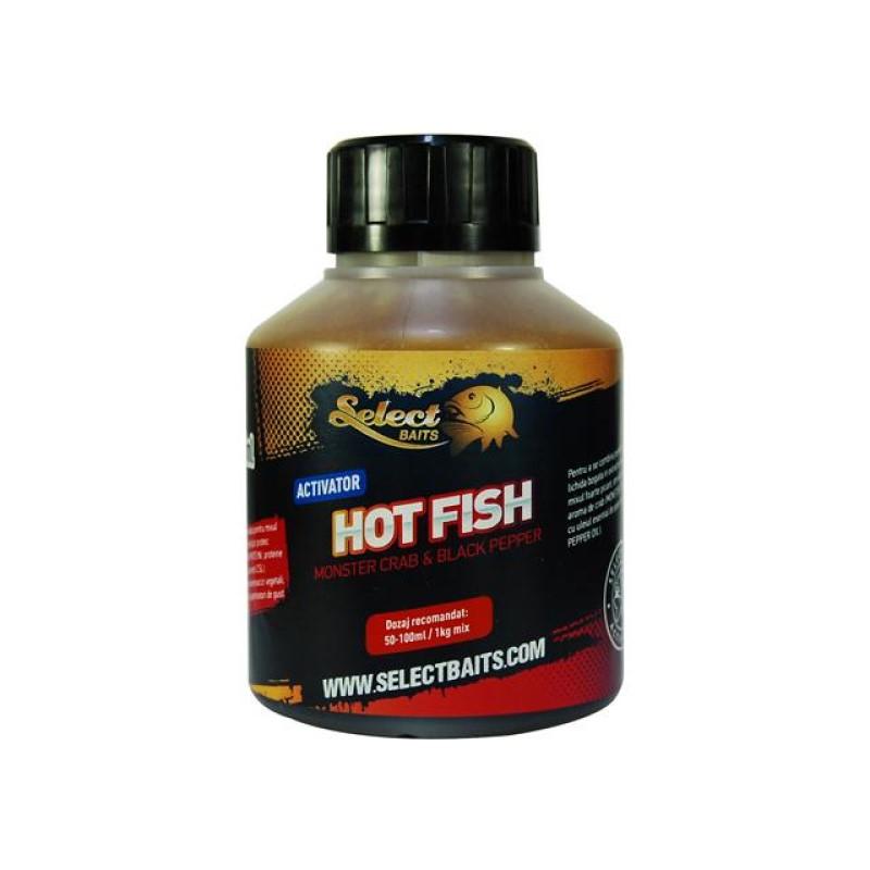 Активатор Select Baits Hot Fish 250ml