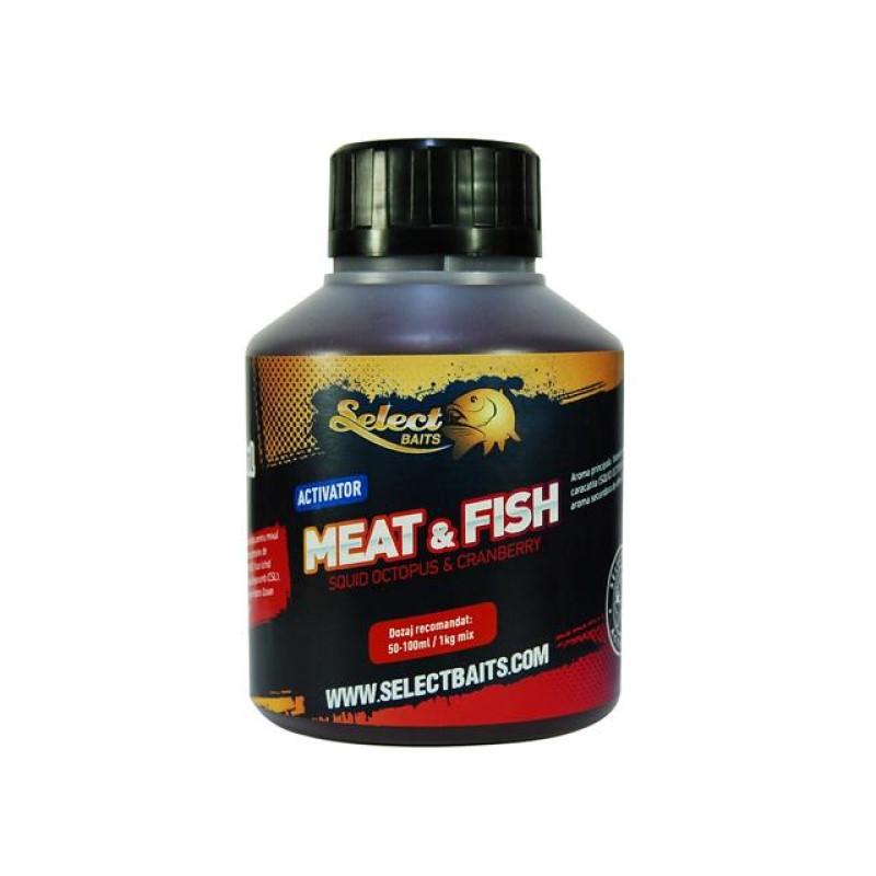 Активатор Select Baits Meat and Fish 250ml