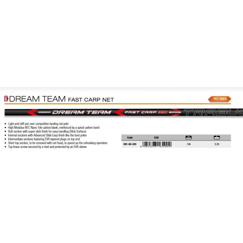 Дръжка за кеп щекерна Trabucco Dream Team Fast Carp