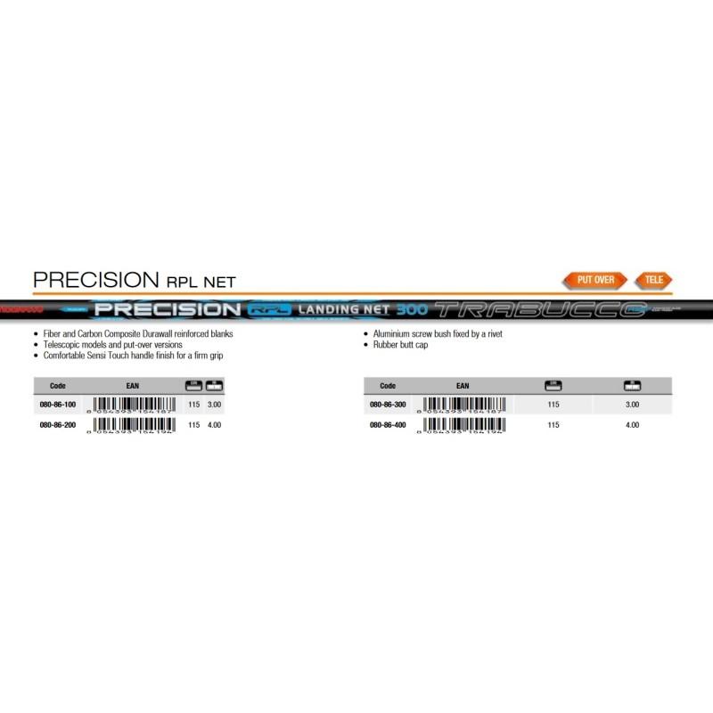 Дръжка за кеп щекерна Trabucco Precision RPL Net Put Over