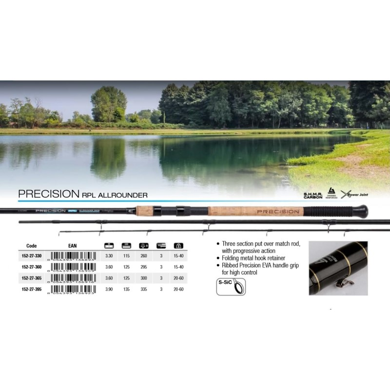 Мач въдица Trabucco Precision RPL Allrounder