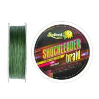 Плетено влакно Select Baits Shockleader X8 Braid Dark Green