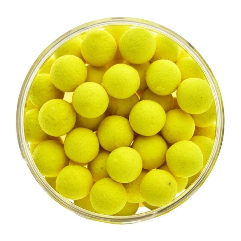 Плуващи топчета Select Baits Fluoro Yellow Sweetcorn Pop-up