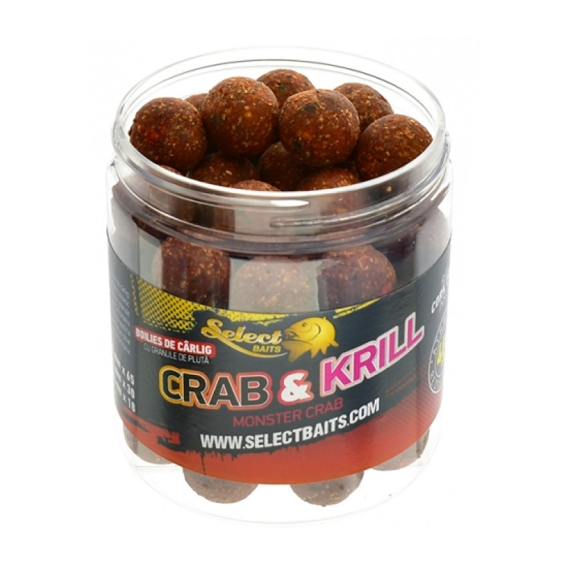 Протеинови топчета Select Baits Crab and Krill Critically Balanced