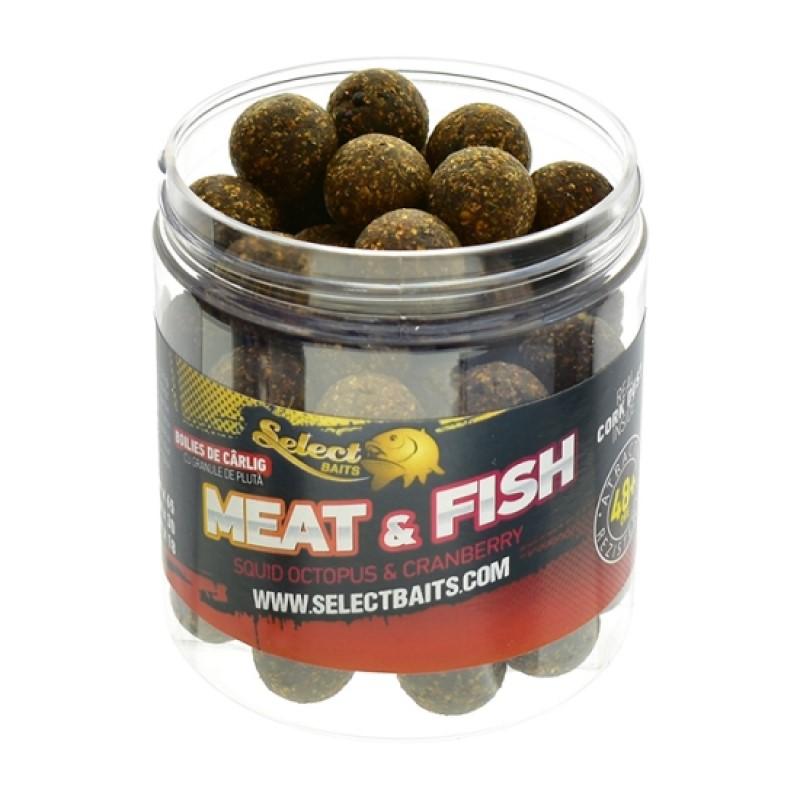 Протеинови топчета Select Baits Meat & Fish Critically Balanced