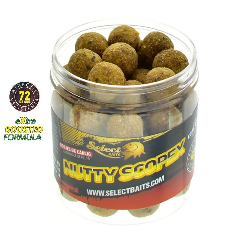 Протеинови топчета Select Baits Nutty Scopex Hardened