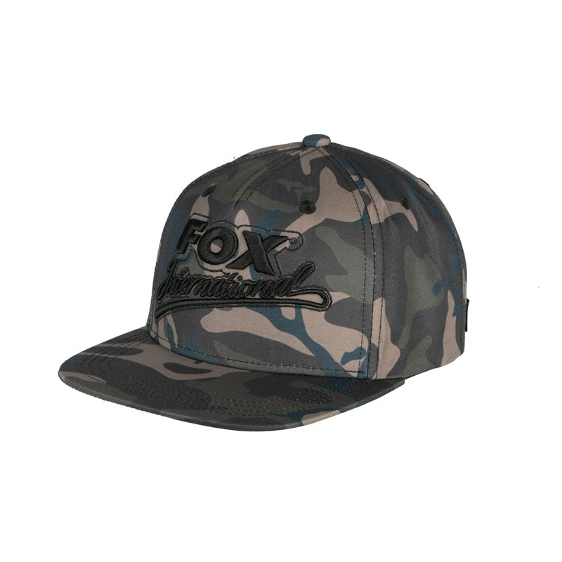 Шапка с козирка Fox International Camo Flat Peak College Snapback