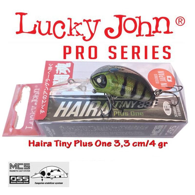 Воблер Lucky John Haira Tiny Plus One 33LBF