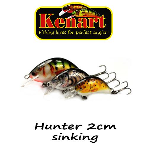 Воблер Kenart Hunter Sinking 2см