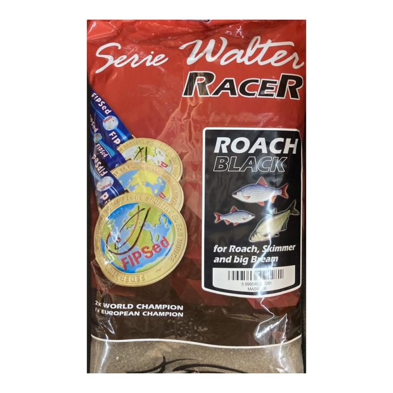 Захранка Maros Mix Serie Walter Racer Roach Black 1kg