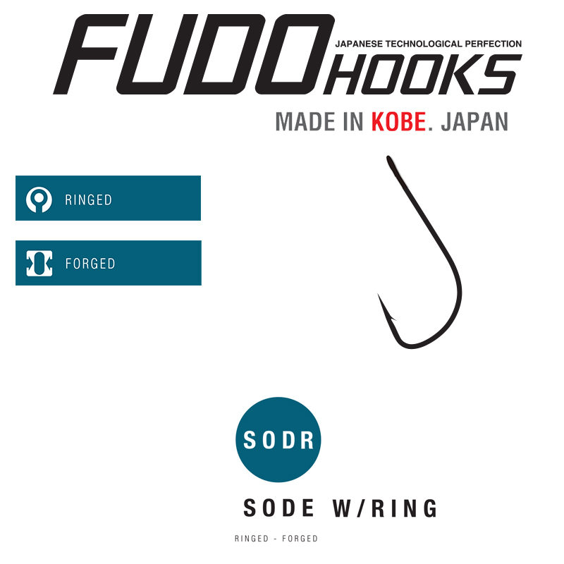 Куки Fudo Sode With Ring RD – 6004