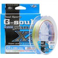 Плетено влакно YGK RS G-Soul Super Jigman X4 200m