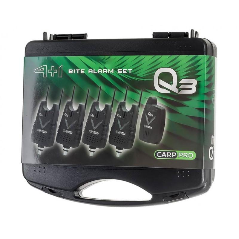 Сигнализатори Carp Pro Bite Alarm Q3 set 4+1