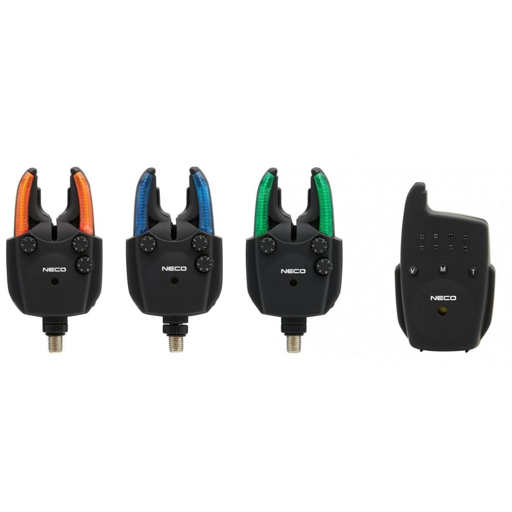 Сигнализатори Neco carp 3+1 R103