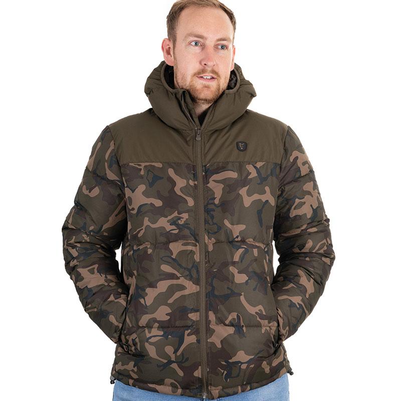 Яке с качулка Fox Camo Khaki RS Jacket