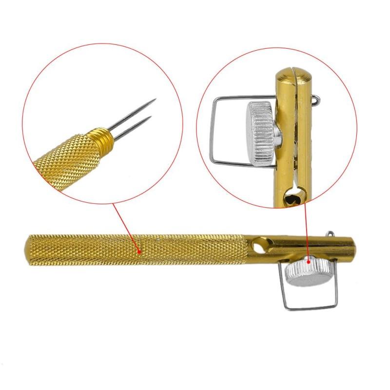 Инструмент за връзване на куки метален