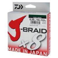 Плетено влакно Daiwa J-BRAID X8 150м Dark Green